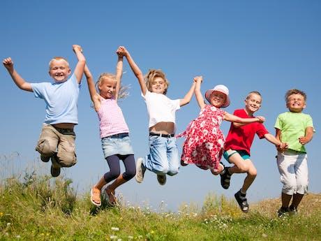 Algemeen ViaLora vrolijke kinderen