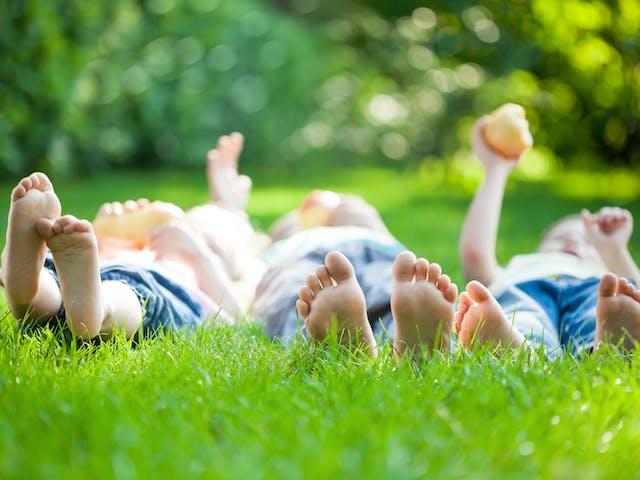 Algemeen ViaLora kinderen in het gras