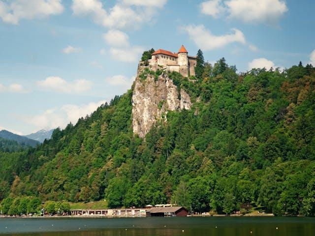 Slovenie-meer van Bled