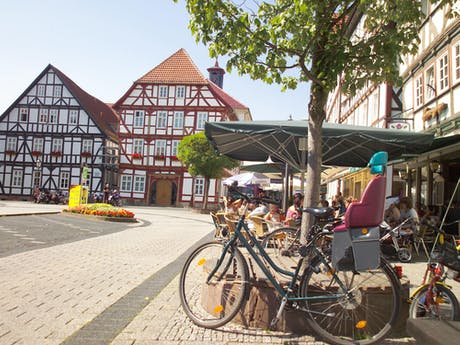 6-daagse fietsvakantie Werra en Fulda