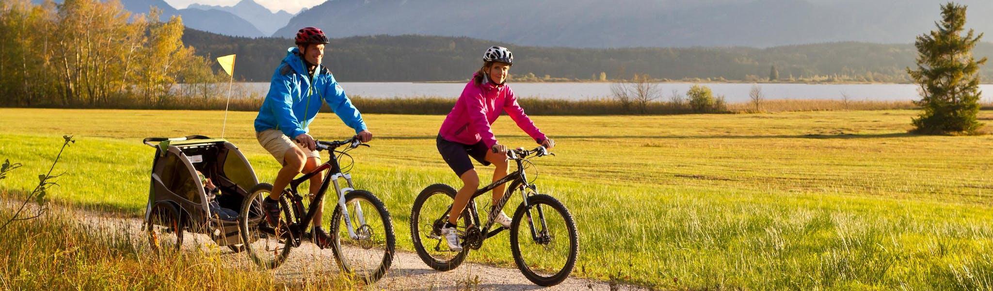 8-daagse fietsvakantie München - Bodensee