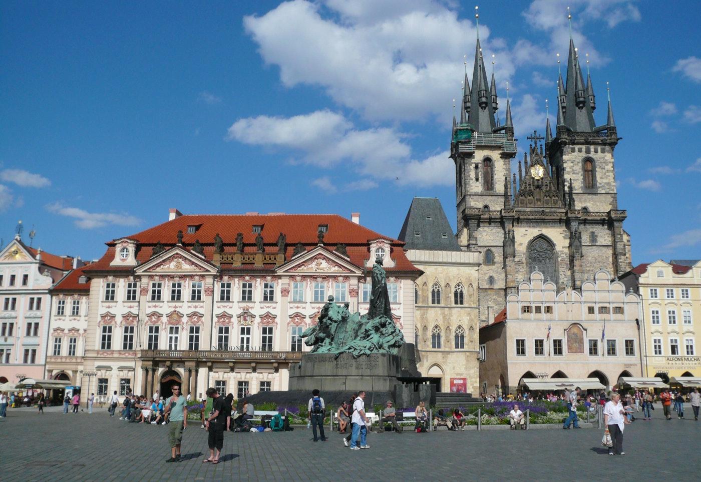 8-daagse fietsvakantie Praag - Dresden