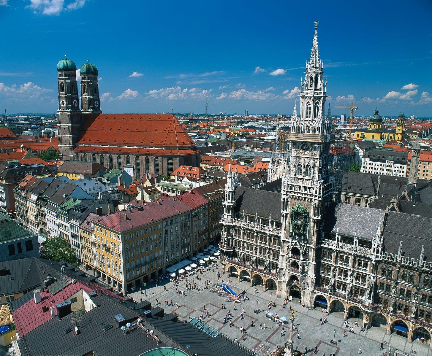9-daagse fietsvakantie München Merentour