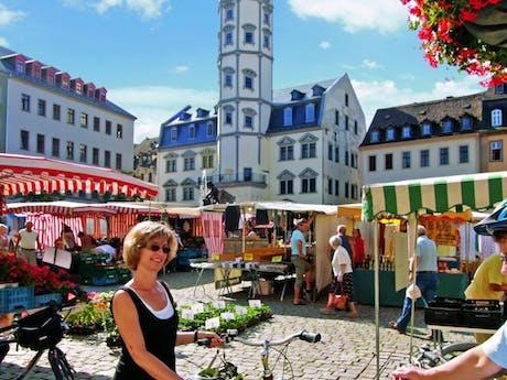 9-daagse fietsvakantie Thüringer Becken