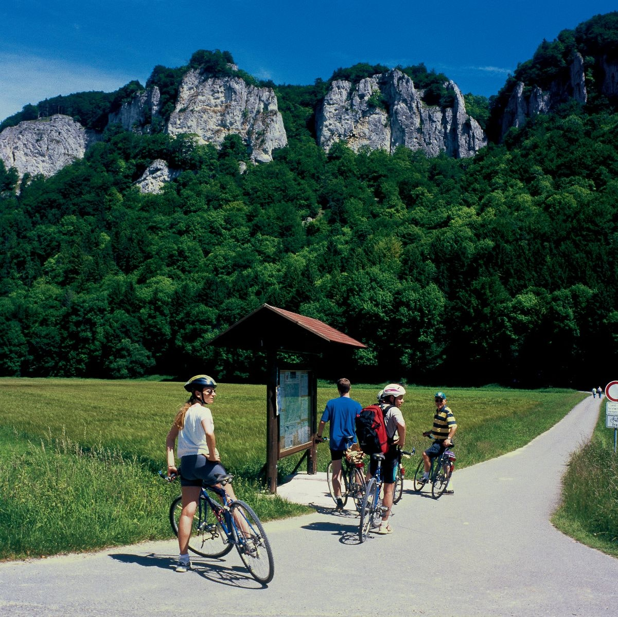 "10-daagse fietstour ""Donau sportief!"""