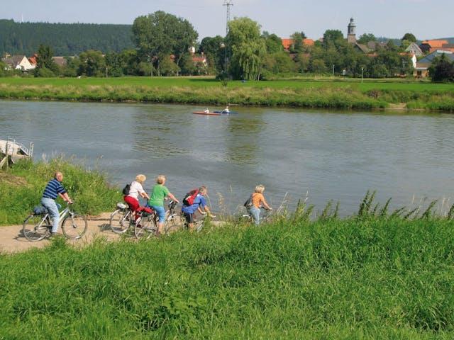 11-daagse fietsvakantie Weserradweg