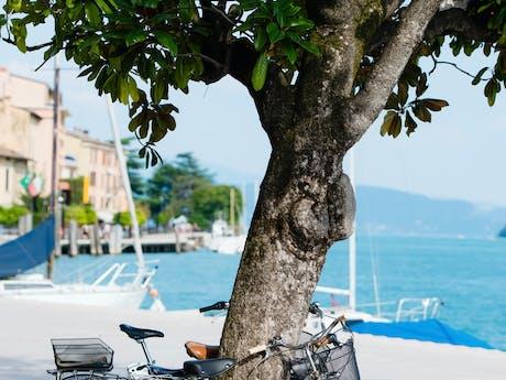 Gardameer per fiets