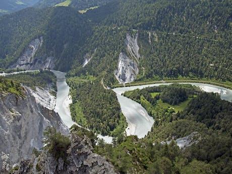 Rhine Gorge Switzerland