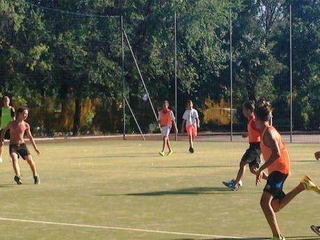 Camping Tenuta Primero voetballen