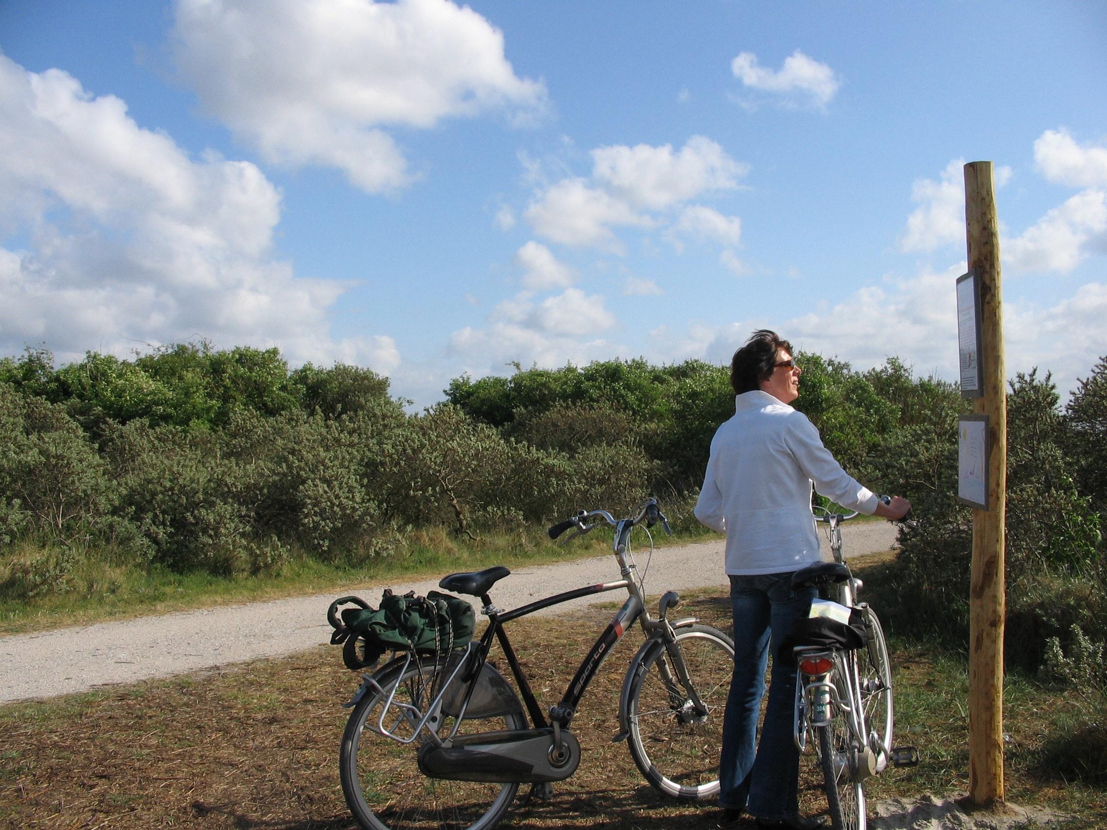 fietsen hollandse kust