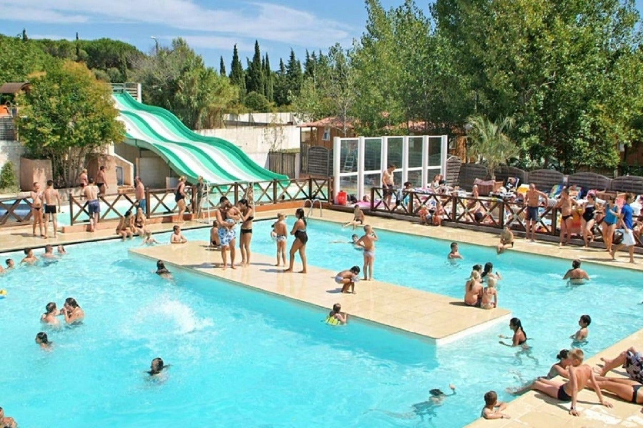 zwembad camping Flower le Frejus