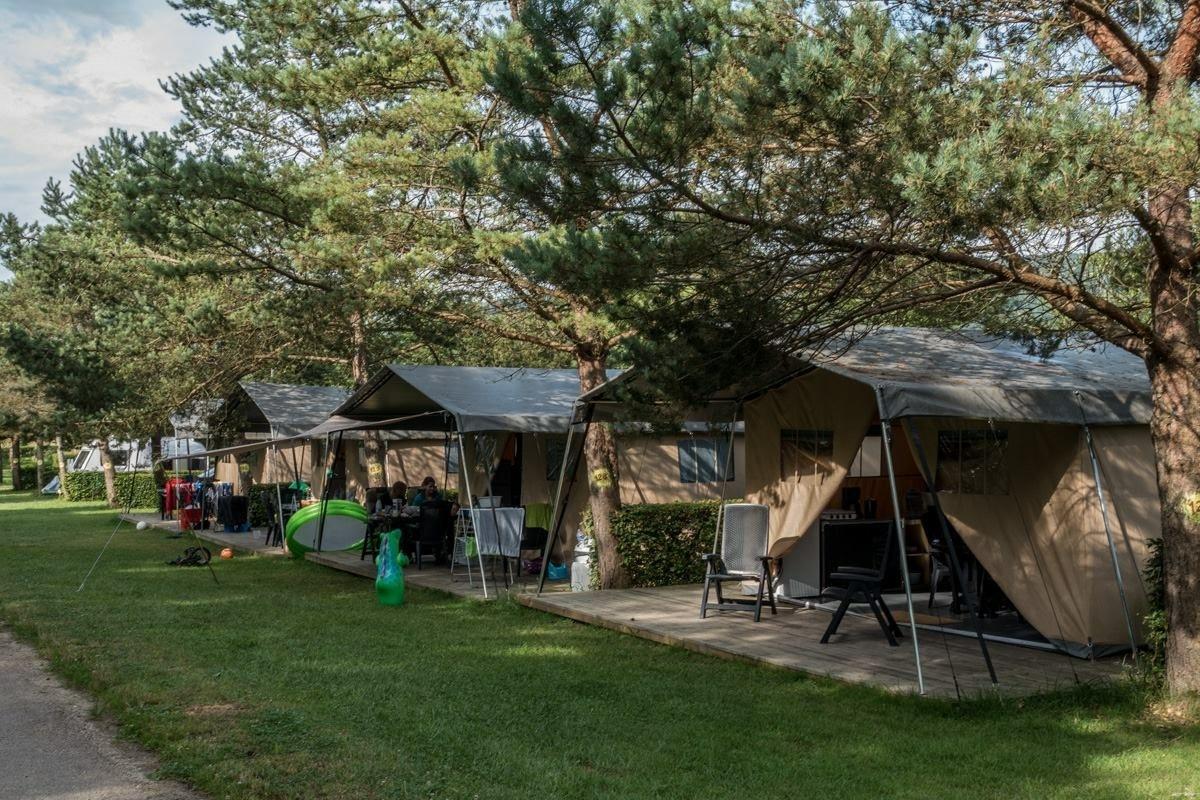 Camping beauregard safaritent