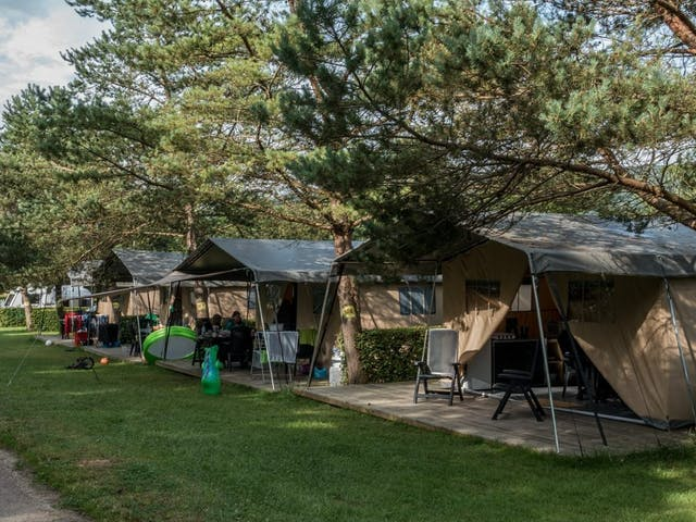 Safaritent Taupe Camping beauregard