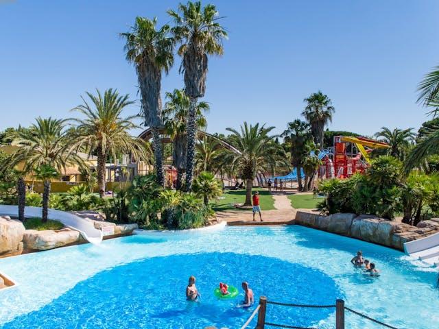 Buiten zwembad camping La Sirene