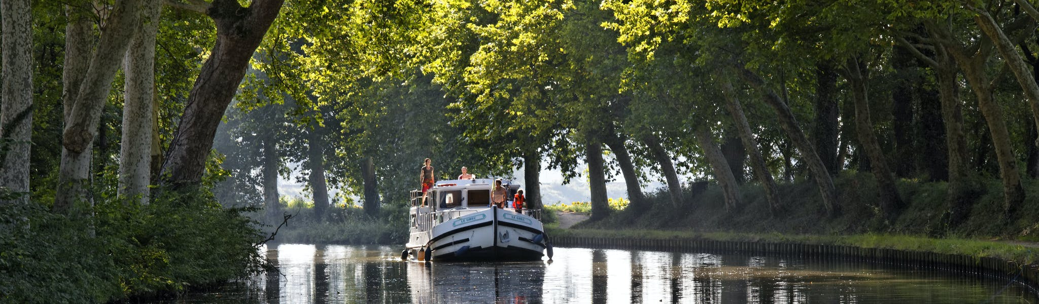 Locaboat vaargebied Canal di Midi
