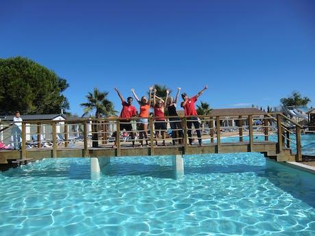 Zwembad camping Bon Port