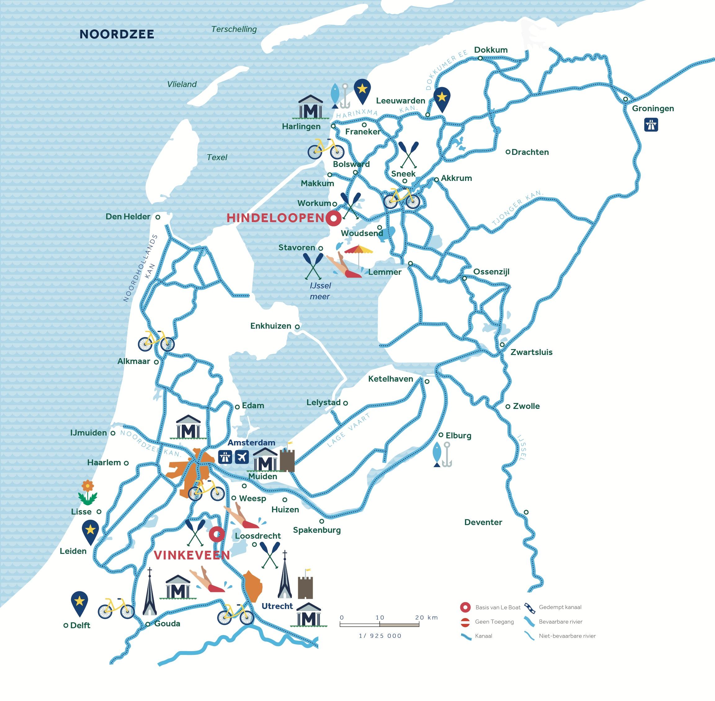 vaarroute NL