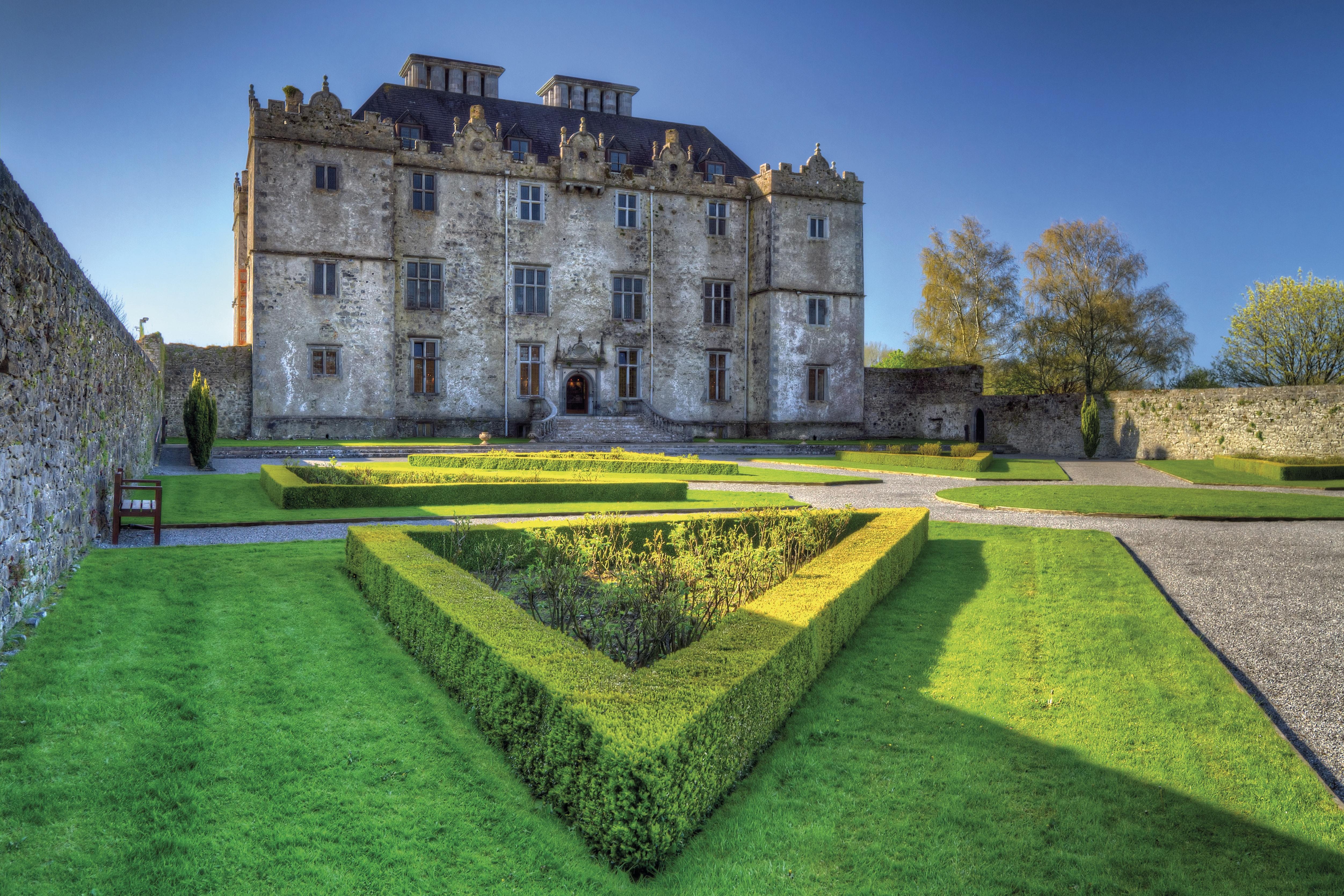 kasteel van Portumna ierland vaarvakanties
