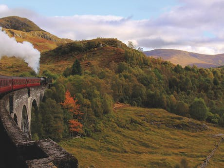 west highland railway shotland