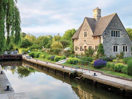 Iffley Lock oxford vaar Engeland