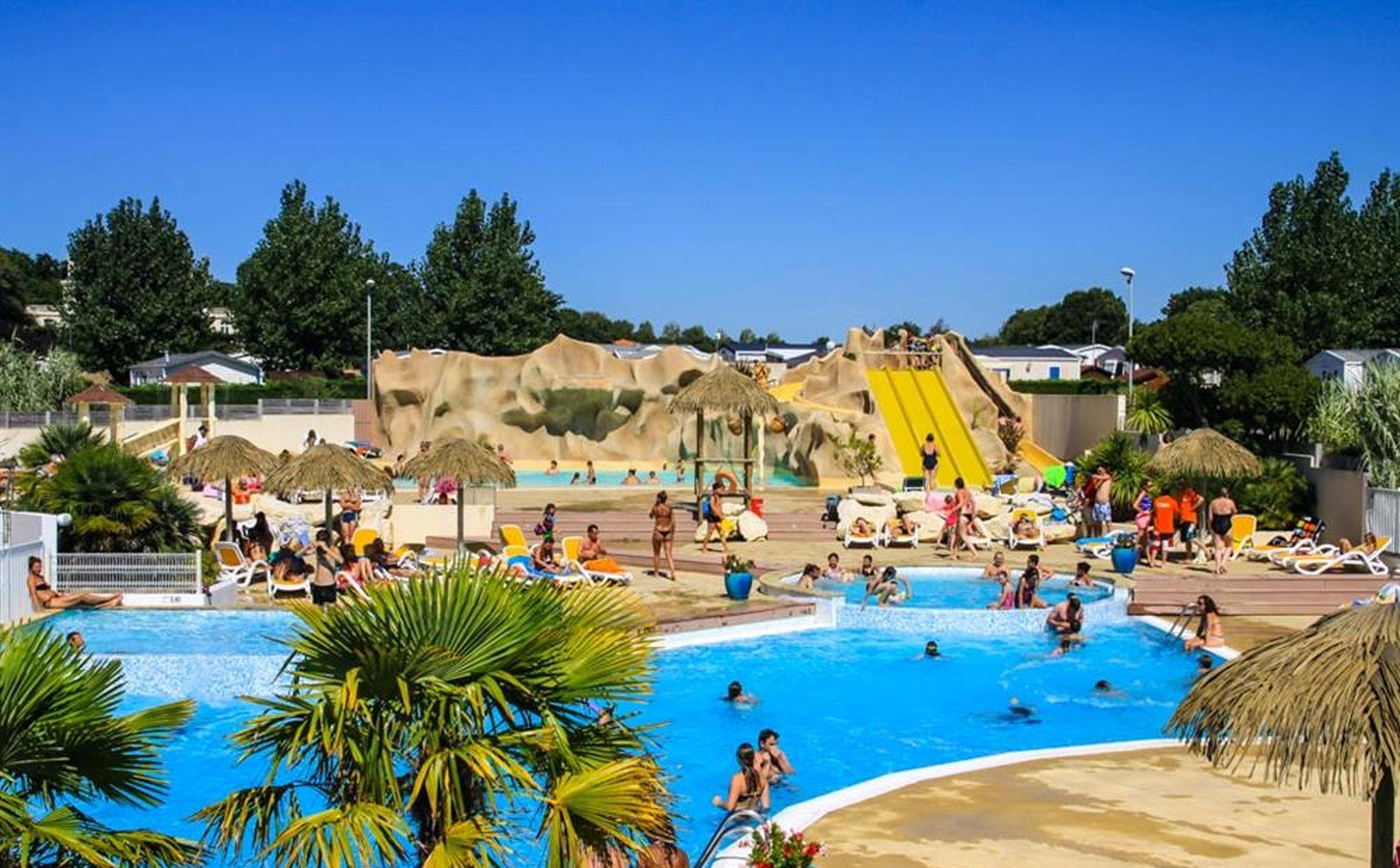 Zwembad camping Les Ecureuils