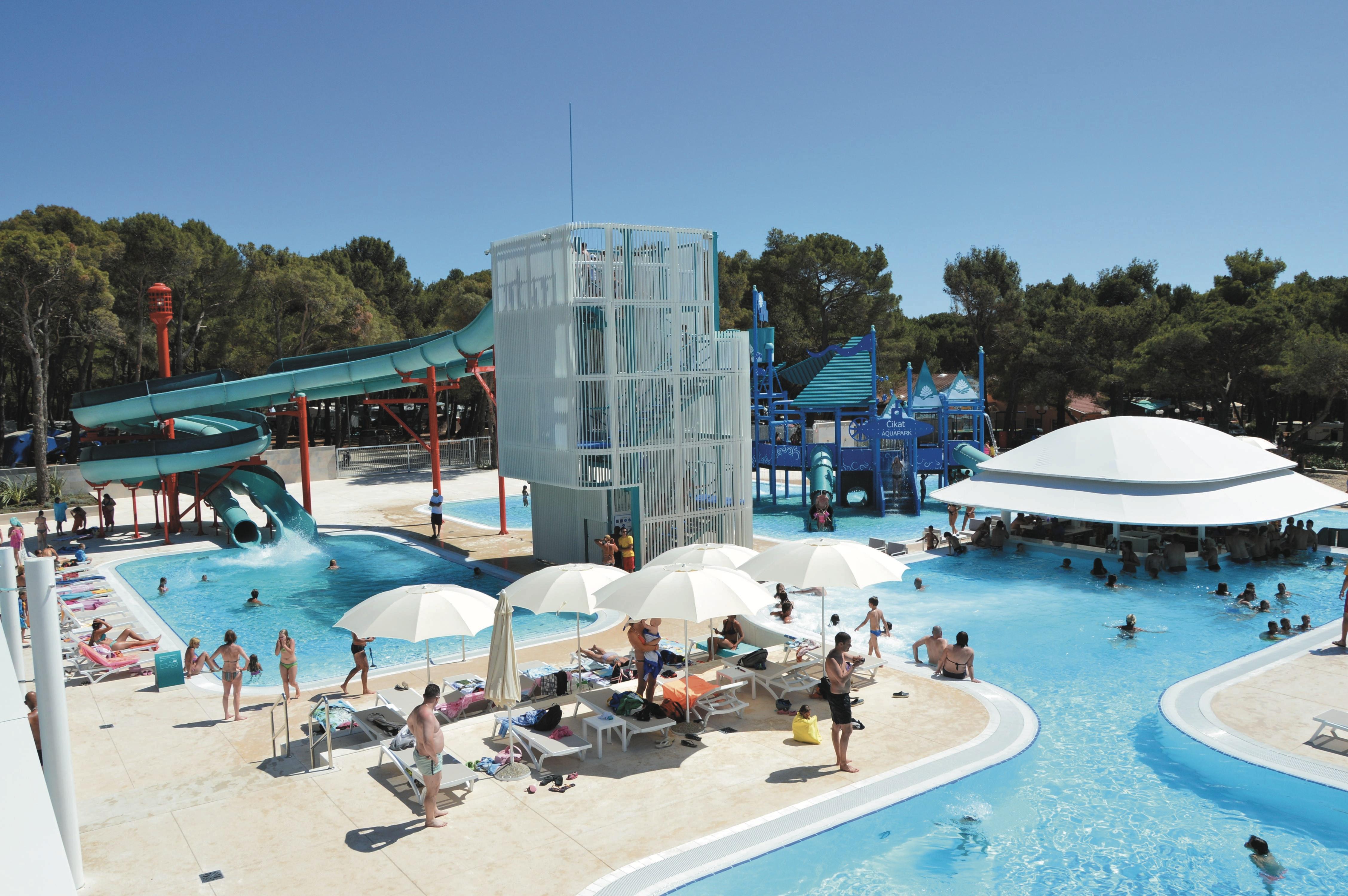 Camping Cikat zwembad roan go4camp
