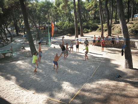 Camping Cikat volleybal roan go4camp