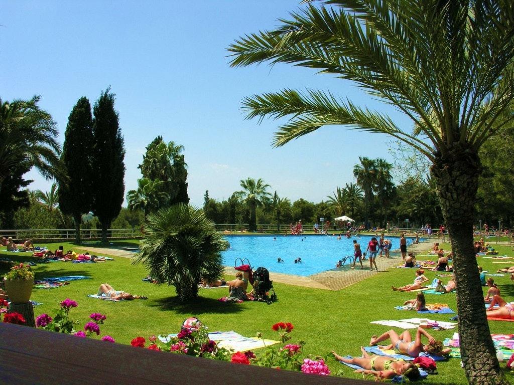 Camping Vilanova park zwembad