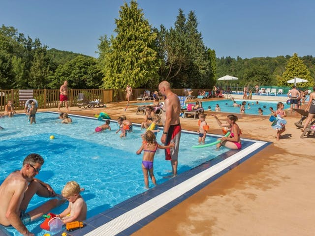Kinderzwembad camping Gorges du Chambon