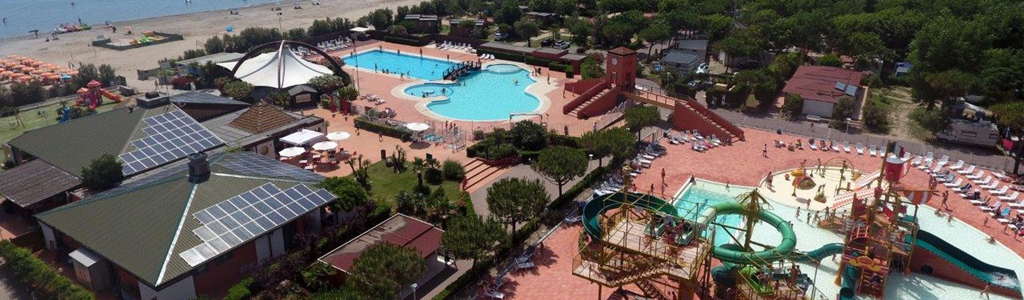 Camping Spiaggia e Mare foto vanuit lucht