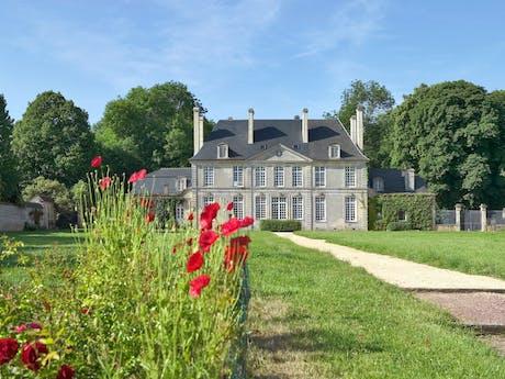 Kasteel camping Chateau de Martragny