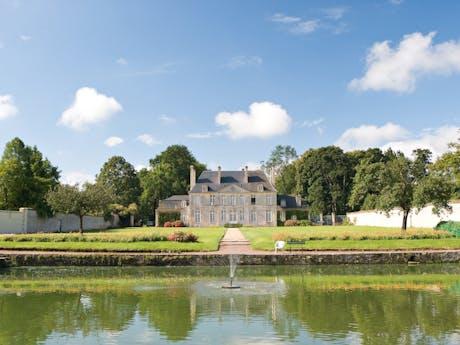 Camping Chateau de Martragny kasteel