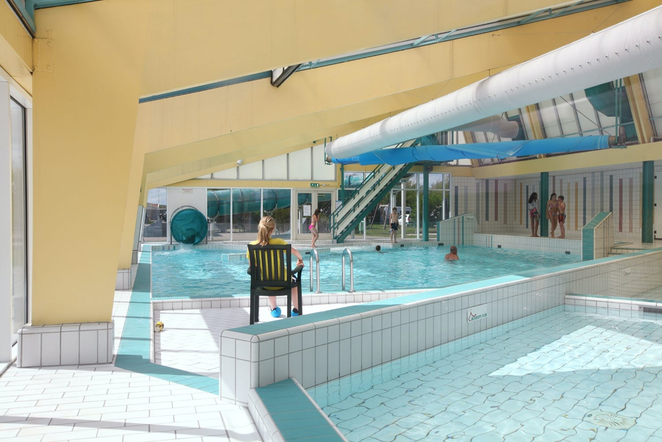 Camping vakantiepark Callasande binnenzwembad