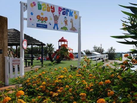 Speeltuin babypark camping Spiaggia e Mare