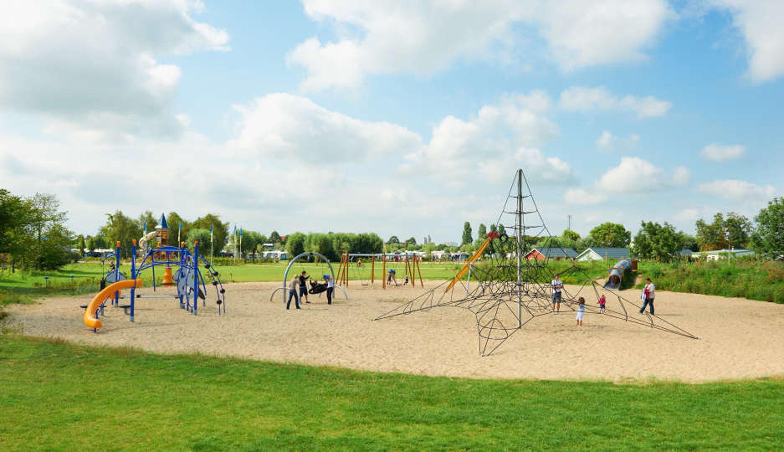 Grote speeltuin Kompas Camping Nieuwpoort