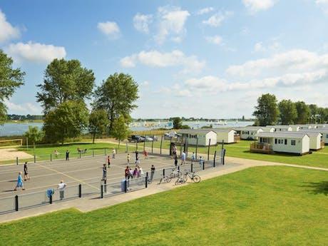 Sportterrein Kompas Camping Nieuwpoort