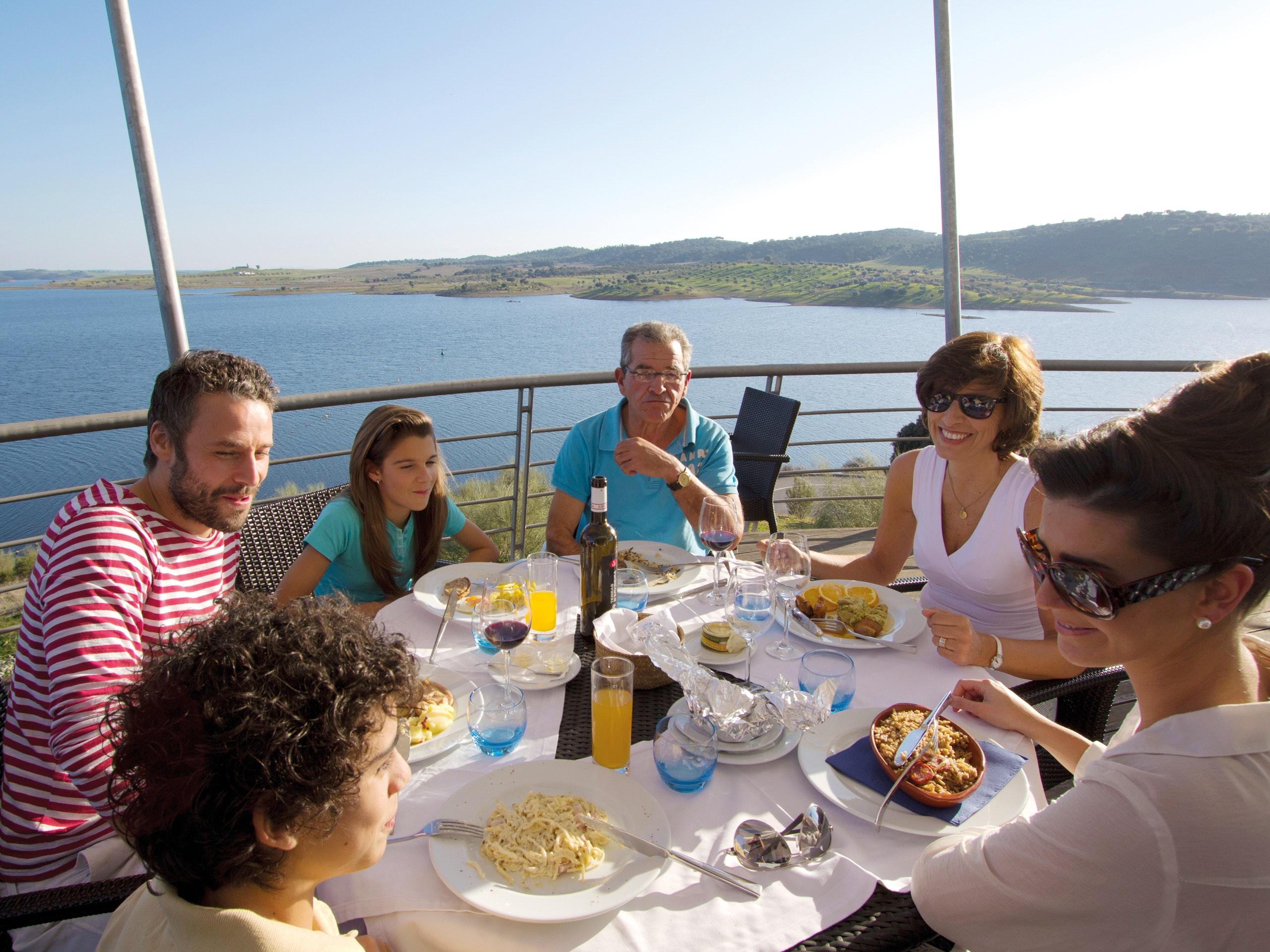 Nicols Grande Lago Portugal eten