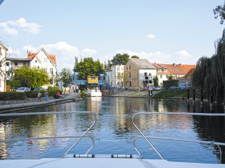 Duitsland Nicols Plau am See vaar