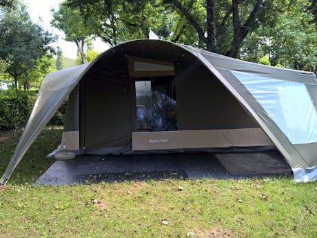 GlamLodge tent camping Moulin de Paulhiac