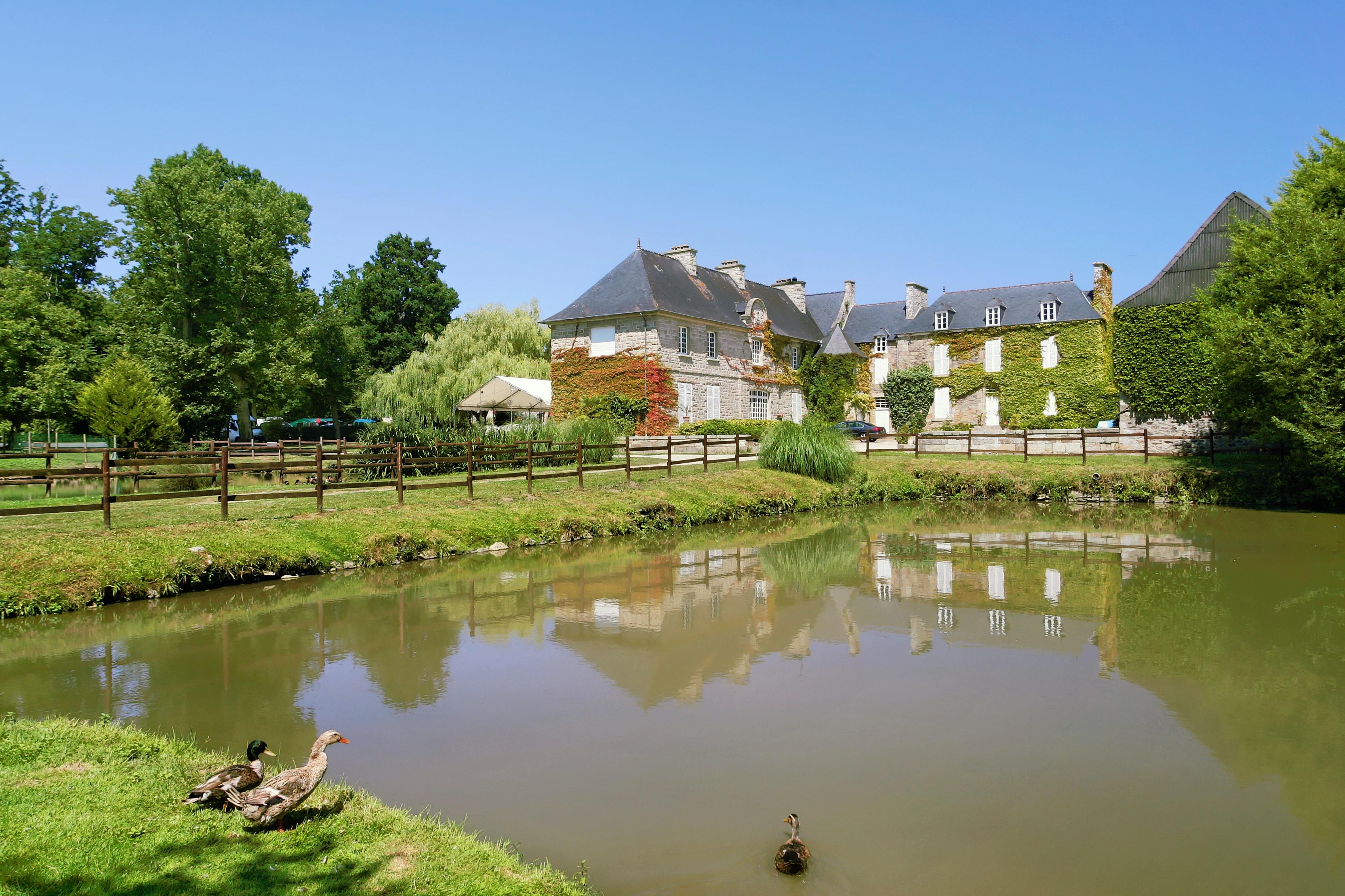 Chateau le Galinee vijver
