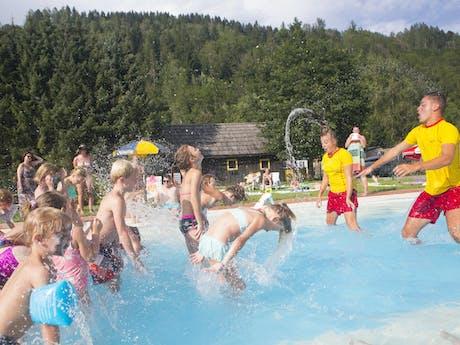 zwembad animatie II Bella Austria