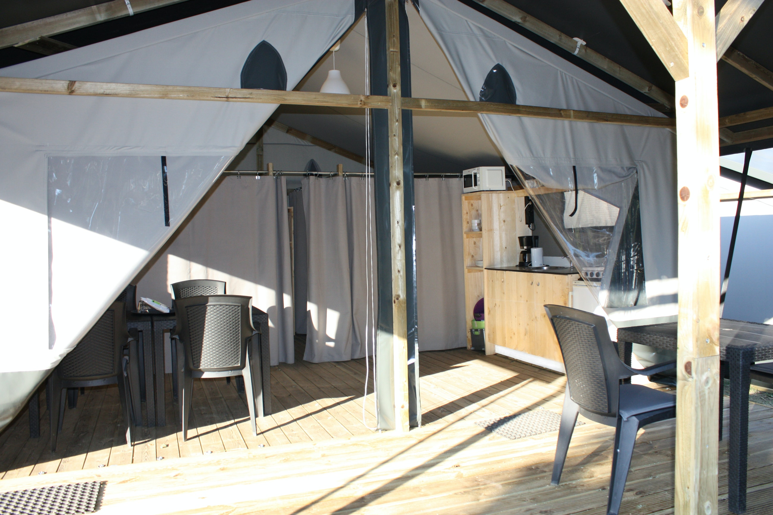 Luxe Lodgetent Grey