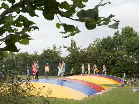 De pekelinge trampoline