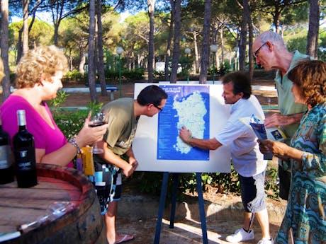 Camping Bella Sardinia kunstschilder