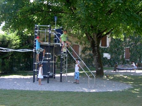 Camping la Ferme de Serraz speeltuin