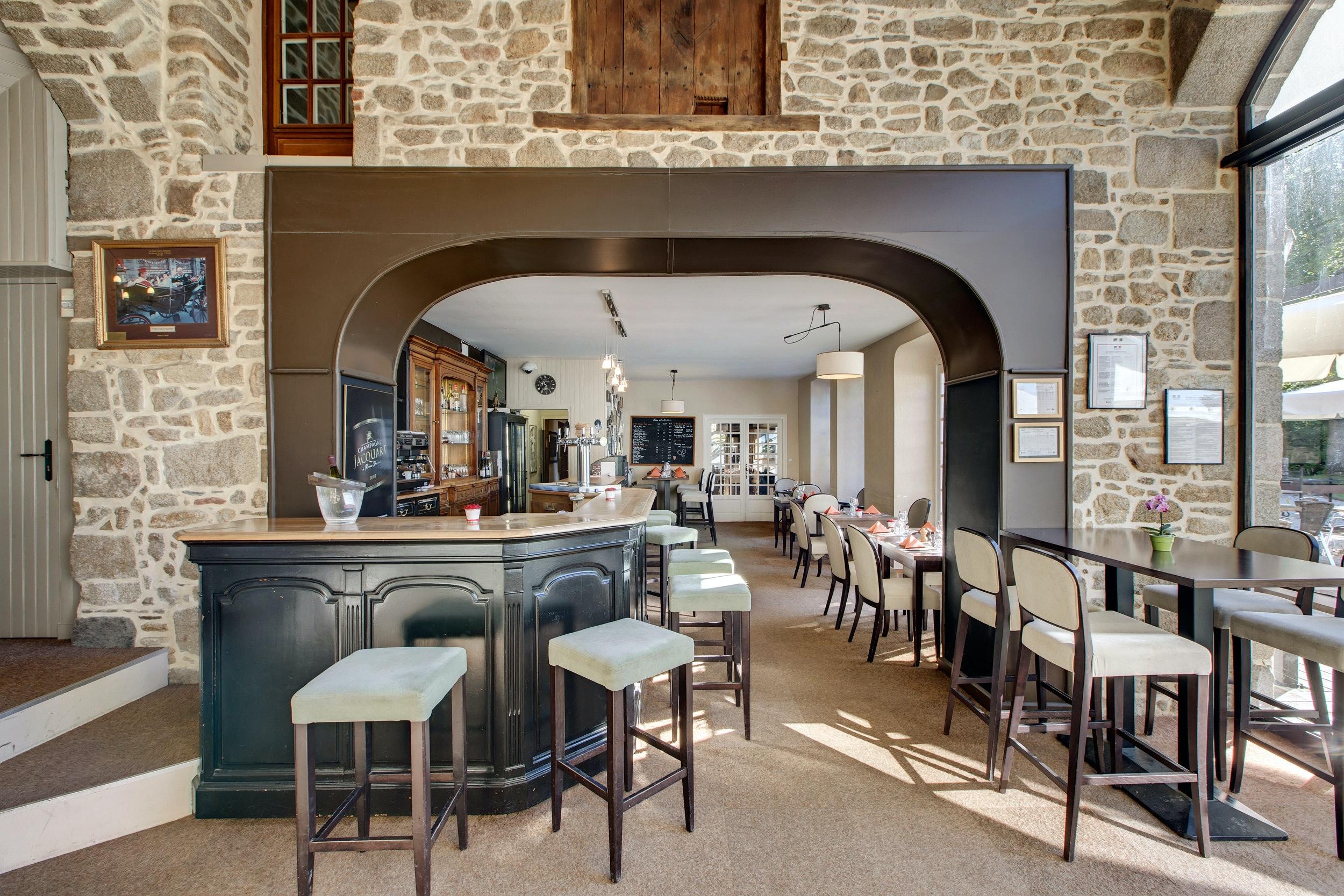Domaine des Ormes prachtig restaurant