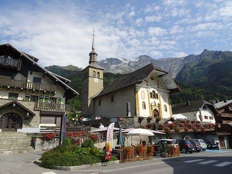 Wandelvakantie Mont Blanc West kerk