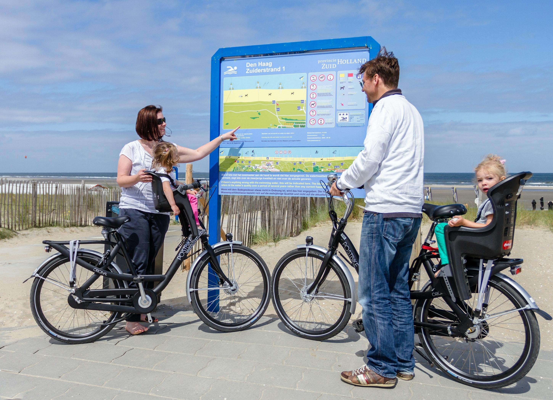 Camping Roompot Kijkduinpark fietstocht