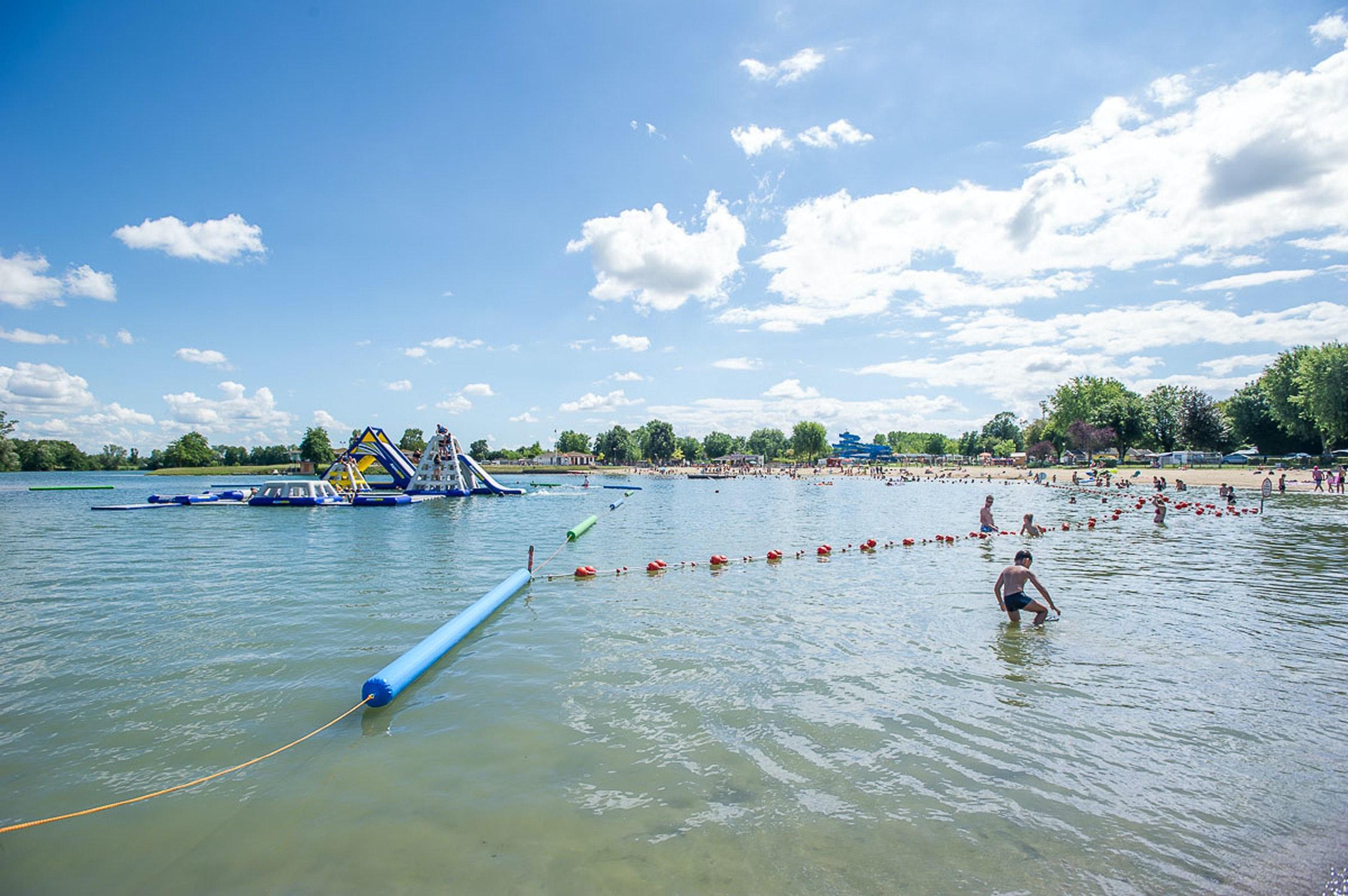 Camping La Plain Tonique zwemmeer