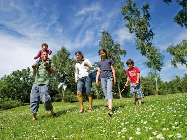 Wandelen gezin